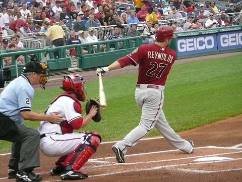 Mark Reynolds of the Arizona Diamondbacks.