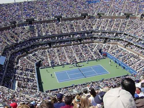 Arthur Ashe Stadium 2005 US Open.
