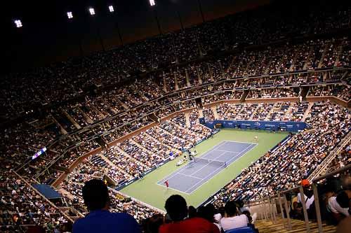 Arthur Ashe Stadium US Open 2007.