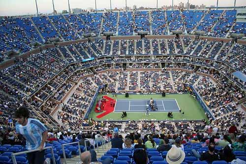 Arthur Ashe Stadium US Open 2009.