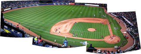 Atlanta Braves Home Opener.