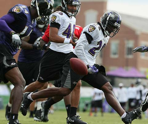 Baltimore Ravens Training Camp August 6, 2009.