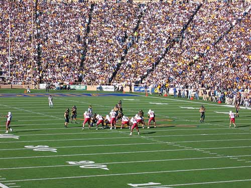 Big Game, 2004 between Cal and Stanford.