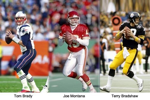 Best All Time Quarterback: Brady vs Montana vs Bradshaw