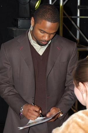 1997 Heisman Trophy winner Charles Woodson.