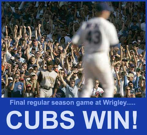 2007 Cubs rock the Wrigley faithful.