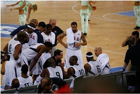 USA vs. China Mens Basketball - Beijing 2008 Olympic Games.