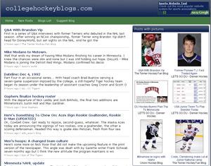 collegehockeyblogs.com