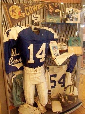 Dallas Cowboys Exhibit.