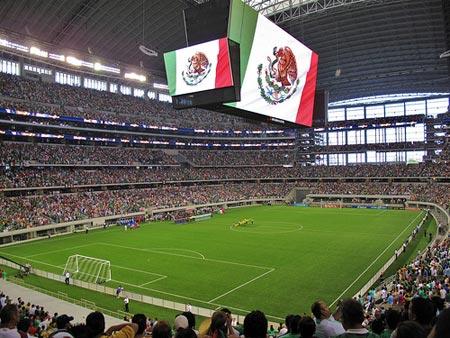 Cowboys Stadium in Arlington, Texas.