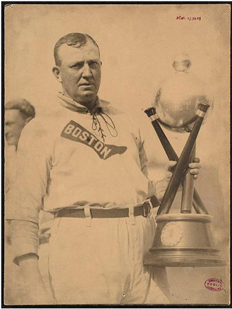 Cy Young of the Boston Red Sox on Cy Young Day.
