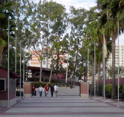 Dedeaux field is a baseball stadium named after the former USC legendary coach Rod Dedeaux.