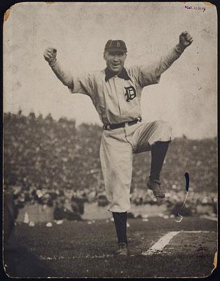 Detroit Tigers Manager Hughie Jennings.