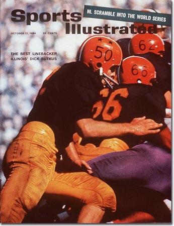 Dick Butkus, Illinois - the Best Linebacker October 12, 1964..