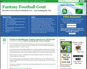Fantasy Football Goat