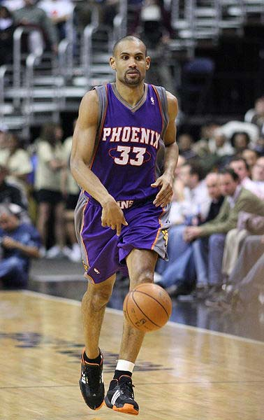 Grant Hill, American basketball player for the Phoenix Suns.