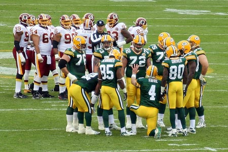 Green Bay Packers Brett Favre
