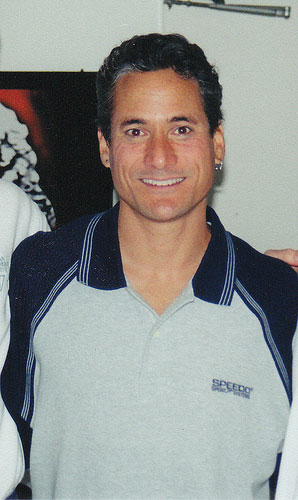 Gay Olympic gold-medal winning diver Greg Louganis.