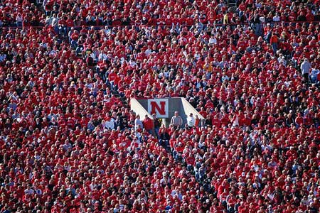 Huskers South Stadium.
