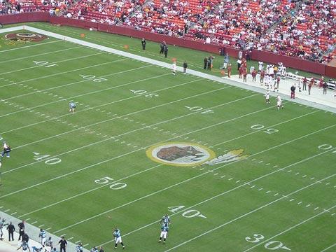 Washington Redskins v. Jacksonville Jaguars.