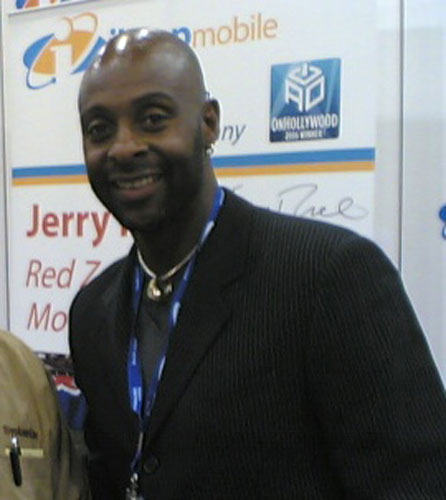 NFL legend Jerry Rice.