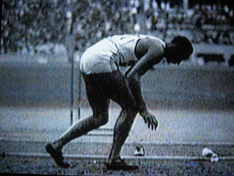Jesse Owen 1936 Olympics.
