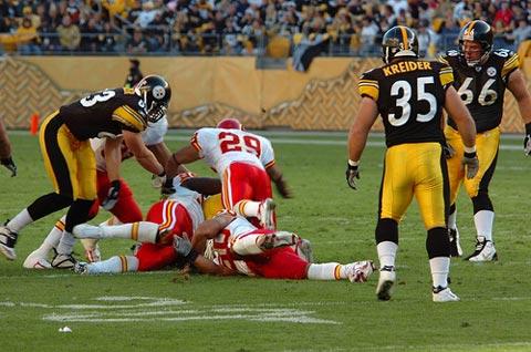 Chiefs Vs. Steelers.