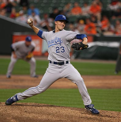 Kansas City Royals' Zack Greinke.