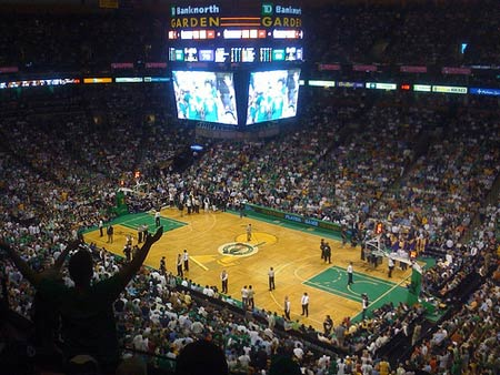 Los Angeles Lakers and Boston Celtics.