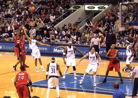 NBA: Mavs v Raptors.