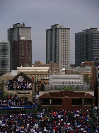 Chicago Cubs vs. Florida Marlins.
