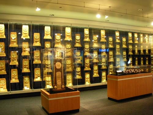 NCAA National Championship trophies, rings, watches.