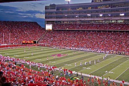 Huskers vs. New Mexico State Aggies was a total blast.