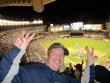 New York Yankees Fans World Series 2009 Game.