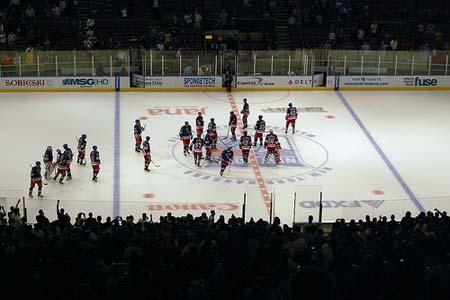 Rangers Vs. Washington Capitals Madison Square Garden