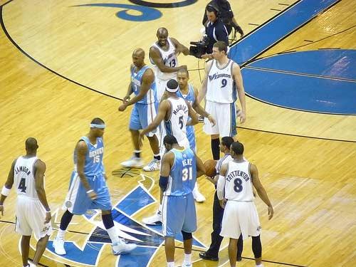 Denver Nuggets Vs. Washington Wizards.