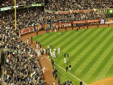 New York Yankees World Series 2009 Game.