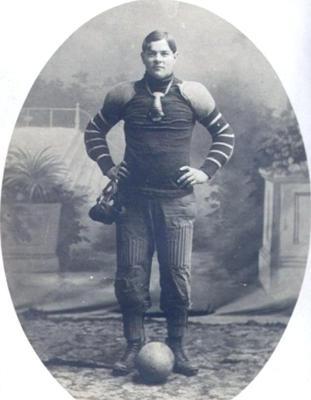 Old Football Uniform Photo