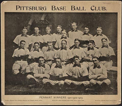 Pittsburgh Pirates team.