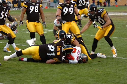 Pittsburgh Steelers football team.