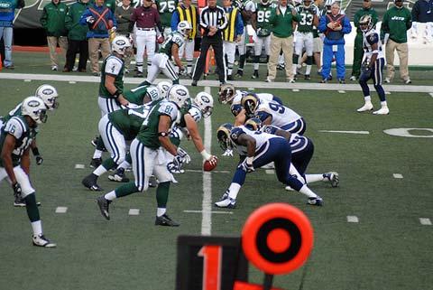 Jets v Rams.