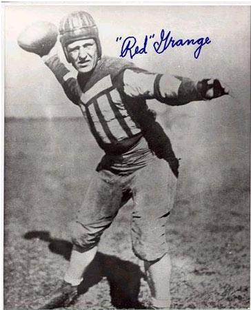 Harold Red Grange.