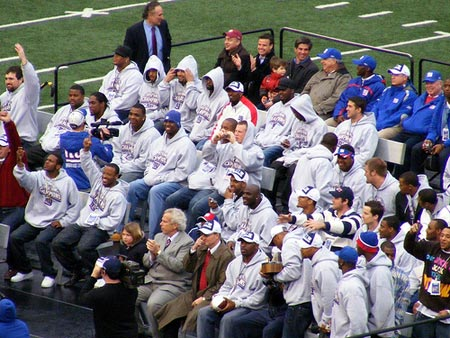 Super Bowl Champions New York Giants Parade.