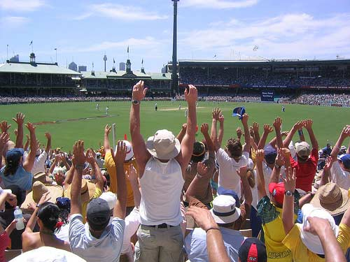 Sydney Cricket Ground.