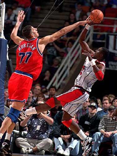 Tallest NBA Players Gheorghe Muresan