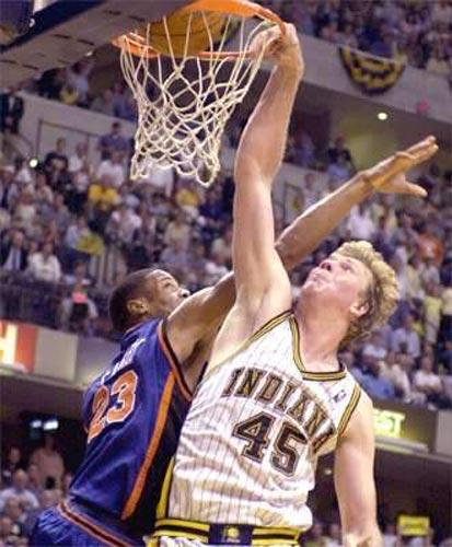 Tallest NBA Players Rik Smits