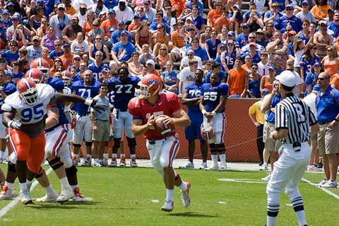 Best All Time College Football Quarterback Tim Tebow
