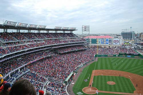 Phillies-Nationals, opening day 2009.
