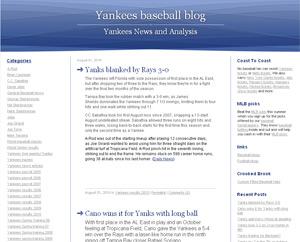 yankeesbaseballblog.com